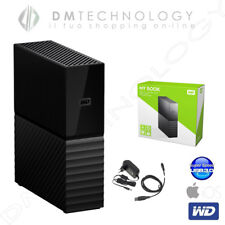 "HARD DISK ESTERNO 3,5"" 4TB MY BOOK WESTERN DIGITAL WDBBGB0040HBK-EESN MAC WIN10"