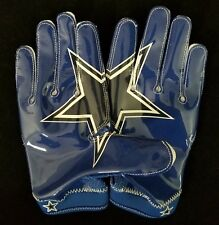 #82 Jason Witten of Dallas Cowboys Locker Room Team Issued Nike Gloves (2XL)