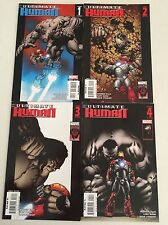 Ultimate Human #1-4 Set Warren Ellis