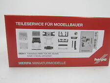 Herpa 083911 Driver's Cab MAN TGX XXL Without WLB & ROOF SPOILERS 1:87 H0 NEW