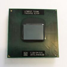 Intel Core 2 Duo Mobile CPU 1.60 GHz / 2M / 533 Mhz T5200 Dual Core