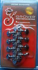 Grover Sta-Tite(TM) Mandolin Machines, 304 Series in Chrome, MPN 304C