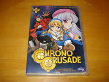 Chrono Crusade Vol. 3: The World, the Flesh & the Devil (Anime DVD, 2005, Used)