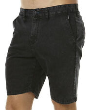 "NEW + TAG BILLABONG MENS SIZE 34"" NEW ORDER TWILL WALK SHORTS STRETCH STEALTH"