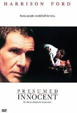 Presumed Innocent (DVD, 1997) Harrison Ford