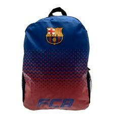 Barcelona Oficial Crestado mochila escolar bolsa de nylon con bolsillos laterales la Liga