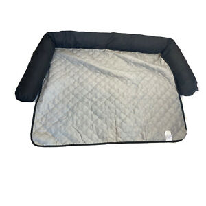 """Duck River Wubs Dog Bed Couch Cover 45"""" X 34"""" Black Gray"""