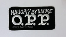 Naughty by Nature O.P.P. OPP 1992 STICKER PATCH music patch RARE logo hip hop