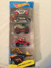 Hot Wheels OFF ROAD Stunt Devil 5 Pack NEW IN SEALED PACKAGE