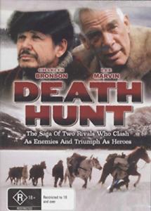 Death Hunt DVD Charles Bronson Lee Marvin New and Sealed Australia