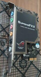 ASUS Supreme FX II HD Soundkarte mit Abdeckung