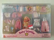 Barbie Baby Krissy Layette NRFB 1999