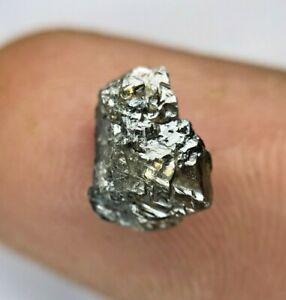 Big Raw Diamond 2.38Ct Brownish Gray Sparkling Natural Irregular Shape for Gift