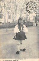 CPA GRECE SALONIQUE 1916