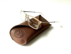 New Ray Ban Frames TITANIUM Eyeglasses Iridescent Red RB7021 Matthew 5497 52 14