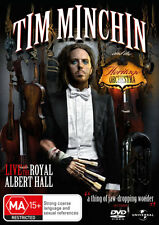 Tim Minchin and the Heritage Orchestra * NEW DVD * (Region 4 Australia)