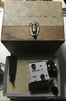 Antique Vintage Kodak Brownie 8 Projector 8mm Model A15 F/1.6 With Case