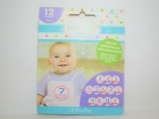 Baby's First Year Stickers 12 Stickers