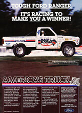1984 Ford Ranger Josele Garza Race Truck Advertisement Car Print Ad J506
