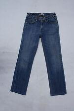 LADY LEVIS 627 Vintage Coupe Droite Bleu Délavé Denim Jeans Stretch W27 L29 uk10 Très bon état
