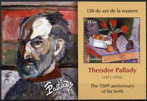 Romania 2021 MNH Art Stamps Theodor Pallady 150th Birth Anniv Paintings 1v M/S