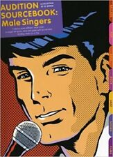 Audition Sourcebook Male Singers Piano Music Book & Backing Tracks 2 CD 22 Songs