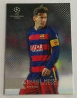 2016 Topps UEFA Champions League Lionel Messi #1 FC Barcelona