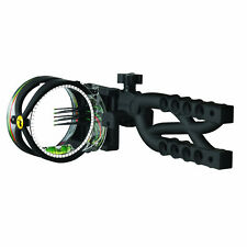 Trophy Ridge Sight Cypher 5 Pin Black Sight Black  W/ Sight Light AS605 #13193