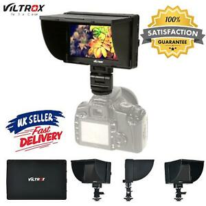 "Viltrox DC-50 HD 5"" LCD Video Monitor HDMI AV for DSLR Camera DV Camcorder T2O0"