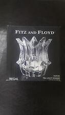 RARE Fitz And Floyd Votive Tea Light Candle Holder Regal Item#:215167-GB