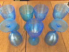 Blue Plastic Glasses (7)