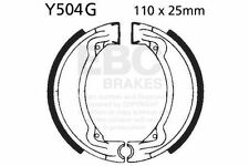 FIT YAMAHA DT 50 M/MX 78>86 EBC FRONT GROOVED BRAKE SHOES