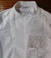 Huntsman Savile Row tunic shirt 14.5  Marcella vintage 1930s evening dress