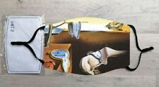 The Persistence of Memory face mask (Salvador Dali)