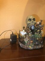 EXTREMELY RARE Lemax Spooky Town/LED Village 2007 SKULL CAVERN-
