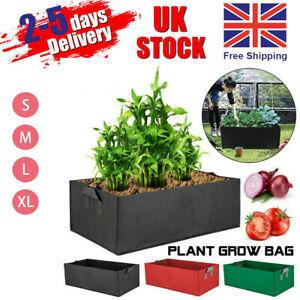 Reusable Large Grow Bag Planter Potato Vegetable Tomato  Carrot Garden Plant Pot