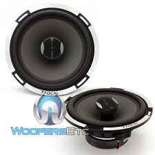 """FOCAL PC165 X2 EXPERT 2 OHM 6.5"""" 2-WAY ALUMINUM TWEETERS COAXIAL SPEAKERS NEW"""