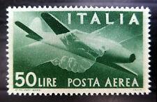ITALIA 1946 - 50L Airmail sg677 MONTATO MINT NUOVO PREZZO fp7281