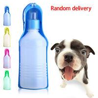 Portable Foldable 250ml Plastic Feeding Bowl for Dog Cat Travel Pet Water Bottle