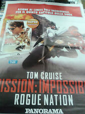 Locandina edicola-poster 80X90:DVD MISSION IMPOSSIBLE ROGUE NATION PANORAMA