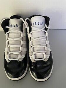 NIKE AIR JORDAN  MAX AURA  concord basketball shoes black white toddler size 12C