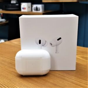 Apple AirPods Pro White In Ear Canal Headset with Wireless Charging Case