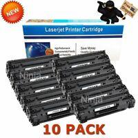 10PK Toner Cartridge for HP CF283X 83X LaserJet Pro M201 M201n M225dn M225dw MFP