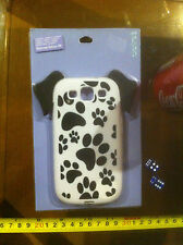 Claire's Claires Accessories Dog Paws Samsung Galaxy S3 Phone Cover £8 RRP