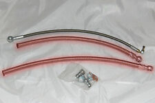 Toyota Starlet Race Tech braided TD04 water lines, Ep91 EP82 Glanza