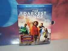 The Darkest Minds (Blu-ray/DVD, 2018, Special Edition w/ Bracelet & Content)
