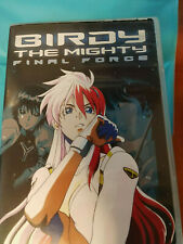 Birdy The Mighty Final Force (DVD, 2004 Central Park Media) Genuine! Region 1 US