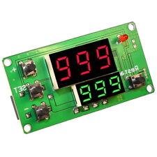 Relé Tempo Modulo con Display 12V 10A Timer Delay Relay Modul