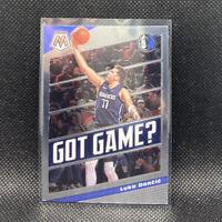 Luka Doncic Got Game 2020 Mosaic Basketball Panini #11 Dallas Mavericks