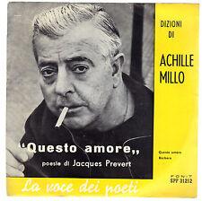 QUESTO AMORE - BARBARA - poesie di Jacques Prevert # dizioni di ACHILLE MILLO